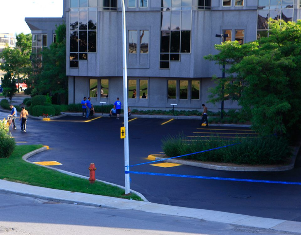 Commercial Asphalt Pavement Markings