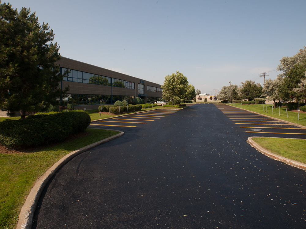 Asphalt Pavement Markings for Commercial Parking lots
