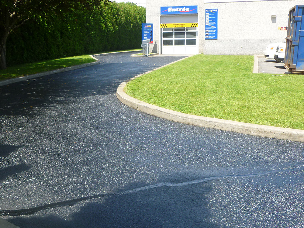 Commercial Garage Asphalt Repairs