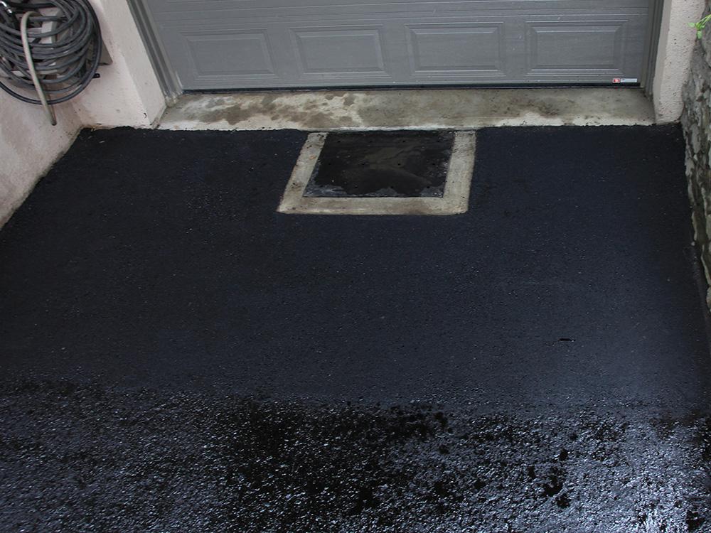 Specialistes en d'asphalte de garage
