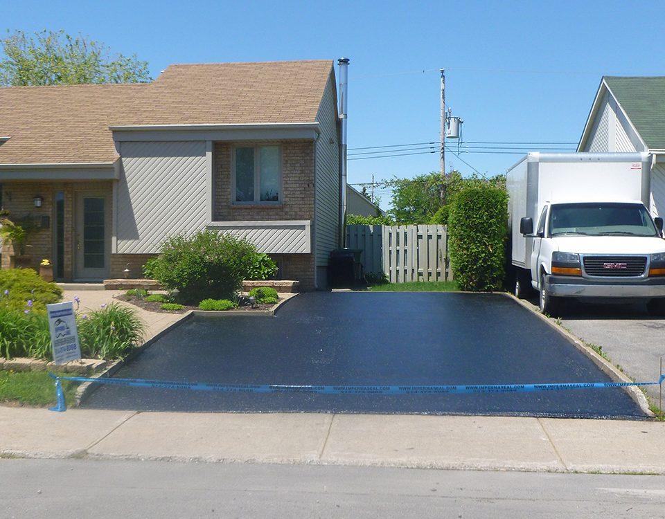 Réparations d'asphalte Laval