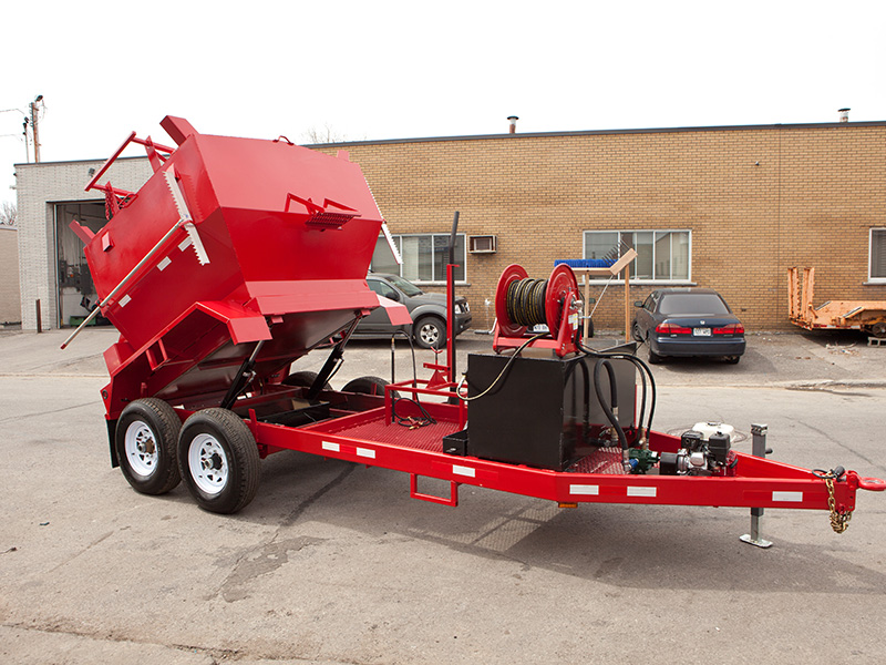 impermaseal asphalt hot box trailer